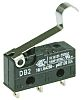 SPDT-NO/NC Simulated Roller Lever Microswitch, 10.1 A @ 250 V ac