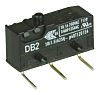 SPDT-NO/NC Button Microswitch, 10.1 A @ 250 V