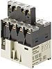 Omron 4PST-NO Non-Latching Relay DIN Rail, 24V dc
