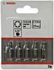 Bosch Screwdriver Bit 5 pieces, T10, T15, T20,