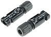 MC4-Steckverbinder Male Kupplung 4 → 6mm² Kabelmontage 30A, 1kV