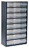 Raaco 24 Drawer Storage Unit, Steel, 552mm x