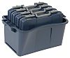 Raaco Grey PC, PP Compartment Box, 250mm x