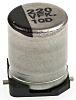 Panasonic 220μF 35V dc Aluminium Electrolytic Capacitor, Surface