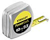 Stanley PowerLock 10m Tape Measure, Metric & Imperial