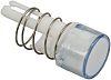 Idec Drucktasterlinse Rund Weiß, für Serie A8