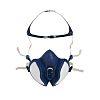 3M 4000 Half Mask Respirator, One Size