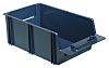 Raaco Blue Plastic Stackable Storage Bin, 136mm x