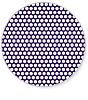 Magnetic Perforated Steel Sheet, 1.2mm Hole, 1m x