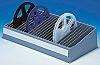 Licefa 25 Cell Black Compartment Box x 450mm
