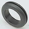 Legrand Black PVC 11mm Round Cable Grommet for