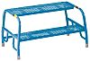 RS PRO 400mm 2 Rung Steel Steps