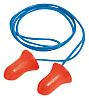 Howard Leight Corded Disposable Ear Plugs, 37dB, Blue,