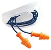 Howard Leight Corded Reusable Ear Plugs, 30dB, Orange,