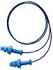 Howard Leight Reusable Blue Thermoplastic Elastomers Corded Ear