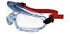 Clear Acetate Anti-Mist Vented Safety Goggles, Scratch Resistant