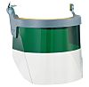 Honeywell Clear Triacetate Visor, Resistant To Molten Metal