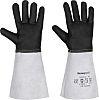 Black Leather Welding Gloves 9 - L