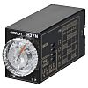 Omron Multi Function Timer Relay, Push In, 0.1