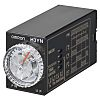 Omron 4NO/4NC Multi Function Timer Relay, 100 →