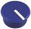 Sifam Potentiometer Knob Cap, 11mm Knob Diameter, Blue,