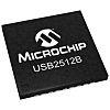 Microchip USB2512B-I/M2, USB Bridge IC, USB 2.0 2-Port,