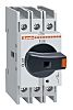 Lovato 3 Pole DIN Rail Non Fused Isolator Switch - 63 A Maximum Current, 22 kW Power Rating, IP65