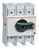 Lovato 3 Pole DIN Rail Non Fused Isolator Switch - 125 A Maximum Current, 45 kW Power Rating, IP65