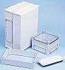 Fibox EK, Grey Polycarbonate Enclosure, IP66, IP67, Flanged,