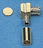 IMS Right Angle Cable Mount MCX Connector Plug,