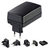 Friwo 24V dc Plugtop strømforsyning, Switch-mode strømforsyning, 1.3A, 30W, Universalplug UX