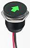 Apem Green Indicator, 12 V dc, 16mm Mounting