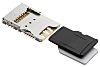 Molex, 104239 6 (Nano SD), 8 (microSD) Way