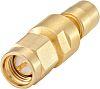 Straight 50Ω RF Adapter SMB Socket to SMA