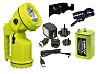 Unilite Rechargeable, LED Handlamp Water Resistant, 250 m