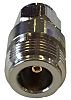 Straight 50Ω RF Adapter Socket Plug