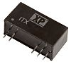 XP Power ITX 6W Isolated DC-DC Converter Through