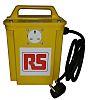 RS PRO Tragbarer Trenntransformator, Primär 230V ac / Sekundär 230V, 750VA, 1 x 13A