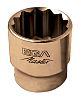 Ega-Master 19mm Bi-Hex Socket With 3/8 in Drive