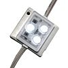 JKL Components White LED Strip 12V dc, ZM-3537-CW