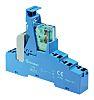 Finder, 24V dc DPDT-2C/0 Interface Relay Module, Push
