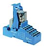 Finder, 230V ac 4PDT Interface Relay Module, Push