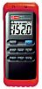 RS PRO, 2-Kanal Digital Thermometer bis +1300 °C, +1999 °F, Messelement Typ K, ISO-kalibriert