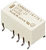 DPDT Surface Mount Latching Relay 2 A, 24V