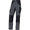 Delta Plus Mach5 Grey/Black Unisex Cotton, Polyester Trousers