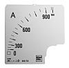 Sifam Tinsley Analogue Ammeter Scale, 800A, for use