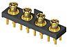 Samtec 50Ω Straight PCB Mount MMCX Connector, Plug,