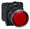 Schneider Electric, Harmony XB5 Illuminated Red Flush, NO/NC,