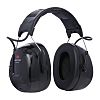 3M PELTOR ProTac III 3.5 mm Jack Plug Listen Only Electronic Ear Defenders with Headband, 32dB