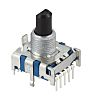Alps Alpine, 6 Position SP6T Rotary Switch, 300